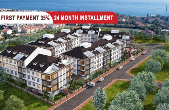 Apartments for sale in Beylikdüzü Istanbul directly on the sea || PRO 182