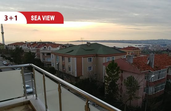 Apartment for sale in Istanbul with special sea view || REF 400
