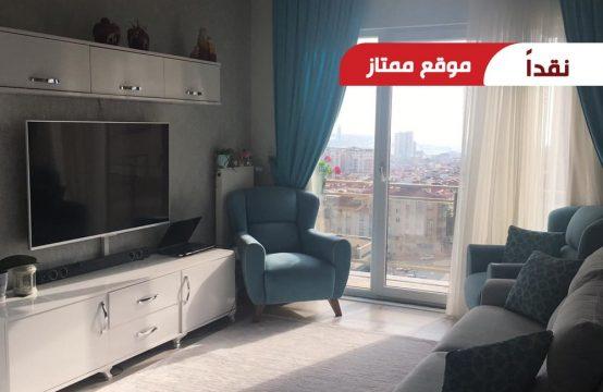 شقة غرفتين وصالة للبيع في اسطنبول – جمهوريات محلسي || REF 394