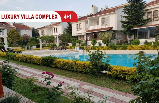 villa for sale in Istanbul  Within a residential complex || REF 383