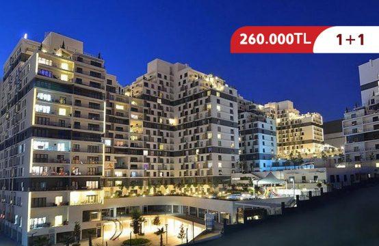 شقة 1+1 للبيع في إسطنبول – اسنيورت ضمن مجمع سكني راقي || REF 401