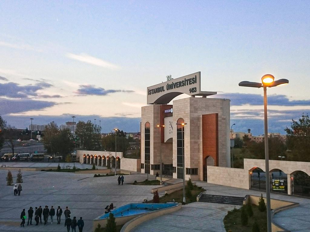 أضخم وأقدم جامعة تركية في منطقة أفجلار في اسطنبول