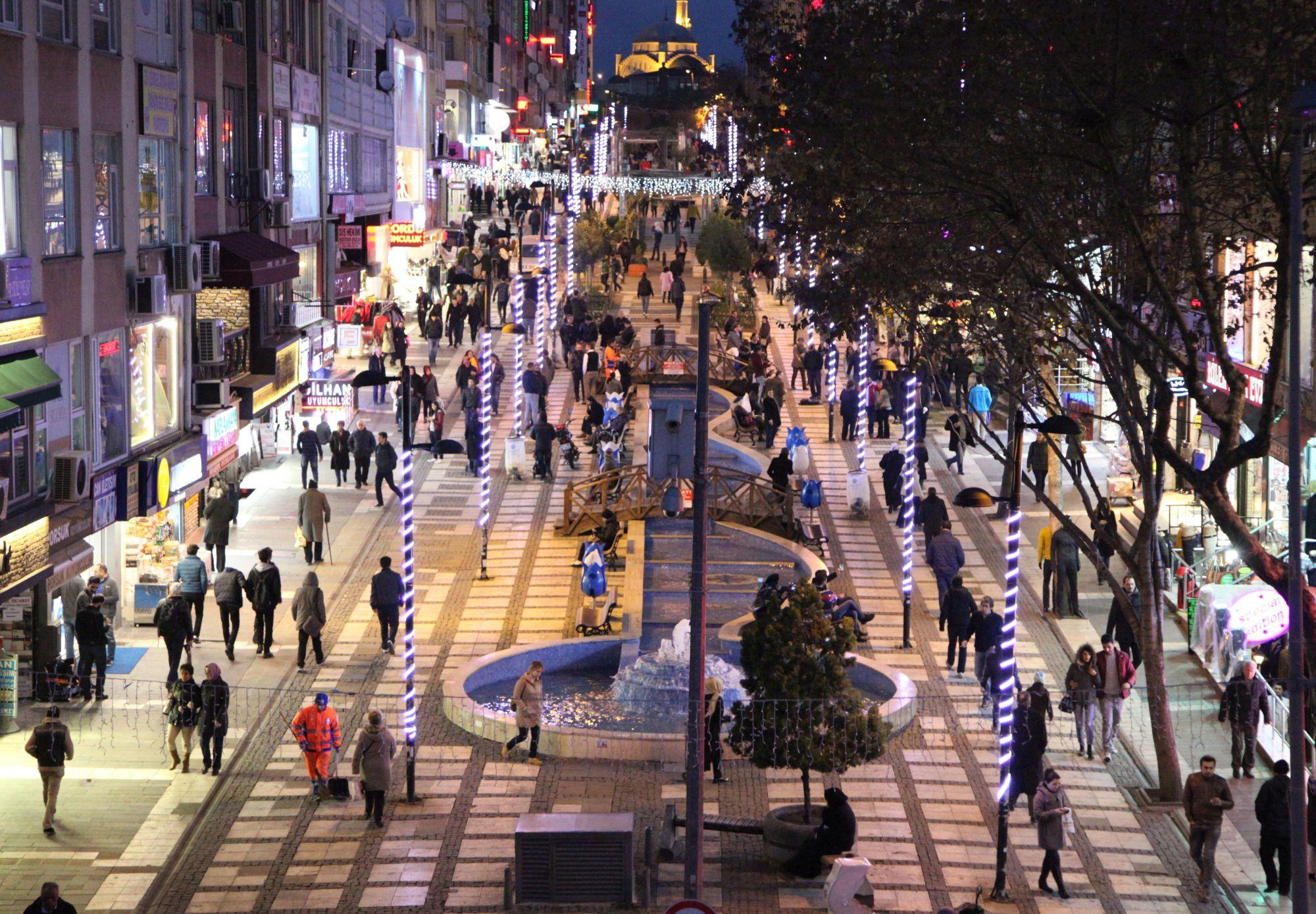 سوق مرمرة في منطقة أفجلار في اسطنبول