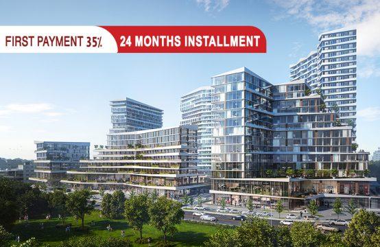 Residential apartments in Istanbul Küçükçekmece || PRO 050