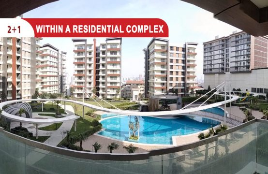 Two bedroom apartment for sale in Istanbul || REF 404