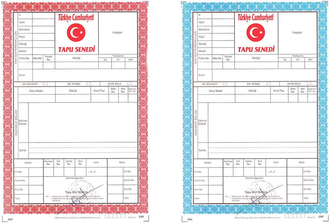 مالفرق بين سند الملكية الأحمر والأزرق؟ || الطابو في تركيا