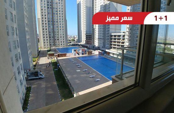شقة رخيصة للبيع في اسطنبول ، ضمن مجمع سكني جاهز || REF 415