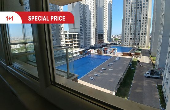 Cheap apartment for sale in Istanbul , within residential complex || REF 415