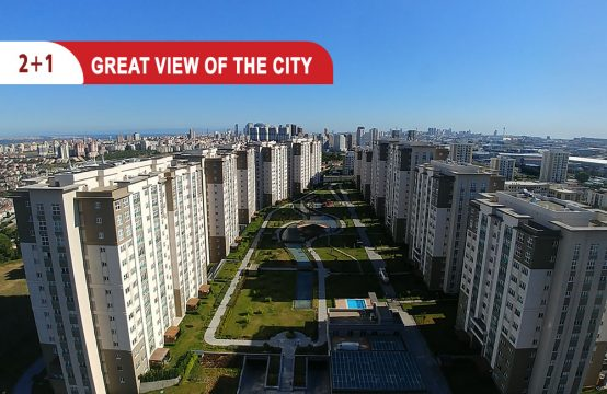 Apartment for sale in Istanbul , with great city view || REF 416