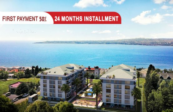 Sea view apartments in Istanbul Buyukcekmece || PRO 212